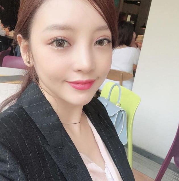구하라 안검하수 수술 후 근황 공개 /사진=구하라 인스타그램