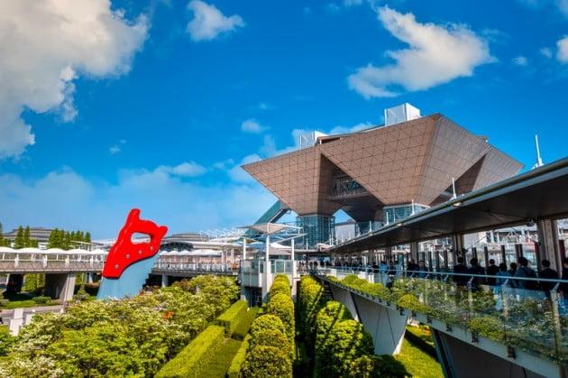 Tokyo Big Sight in Odaiba, Tokyo, Japan (게티이미지뱅크)