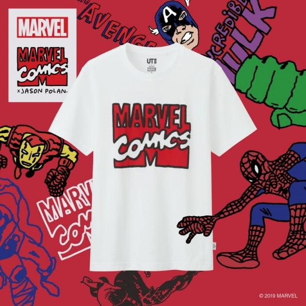 '어벤져스 엔드게임' 개봉을 앞두고 유니클로가 마블(MARVEL) 그래픽 티셔츠 '마블 UT'를 출시했다.