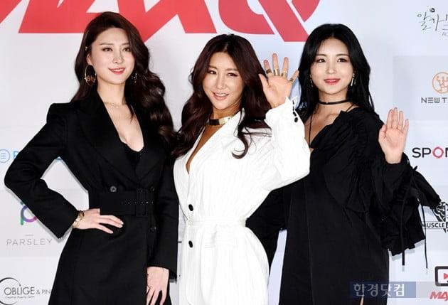 [포토] 이나현-김소영-김유림, '가려도 섹시한 그녀들'