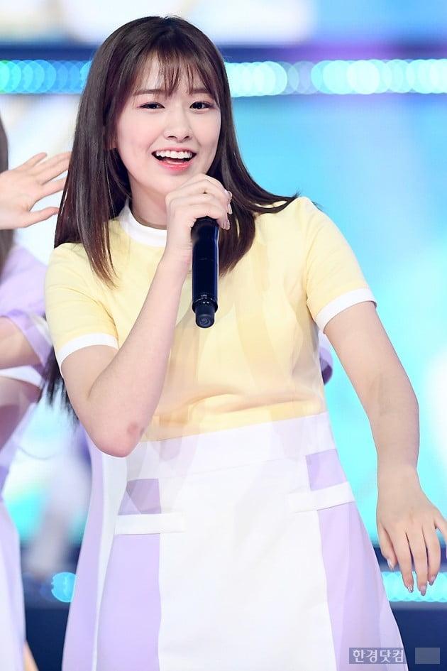 [포토] 아이즈원 안유진, '상큼한 미소~'