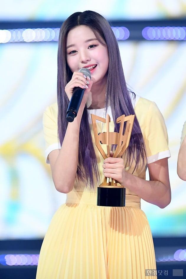 [포토] 아이즈원 장원영, '귀여워~'