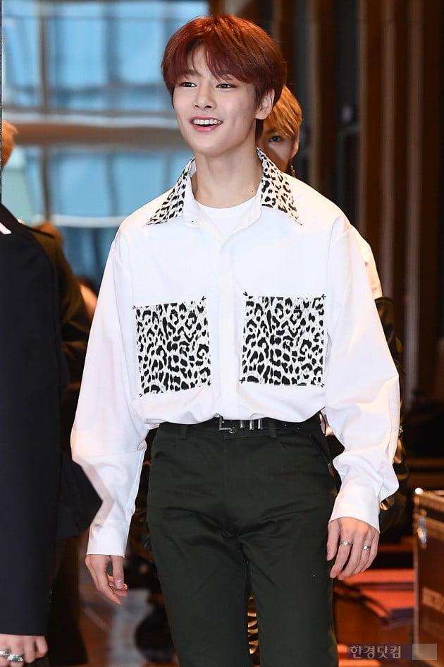 [포토] 스트레이 키즈 아이엔, '막내의 귀여운 미소~'