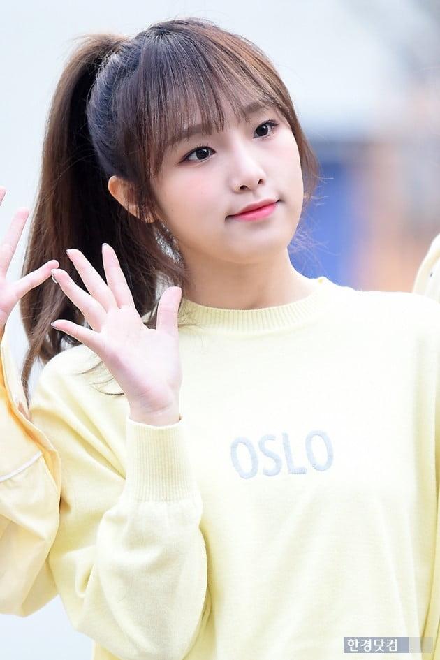[포토] 아이즈원 최예나, '귀여워~귀여워~'