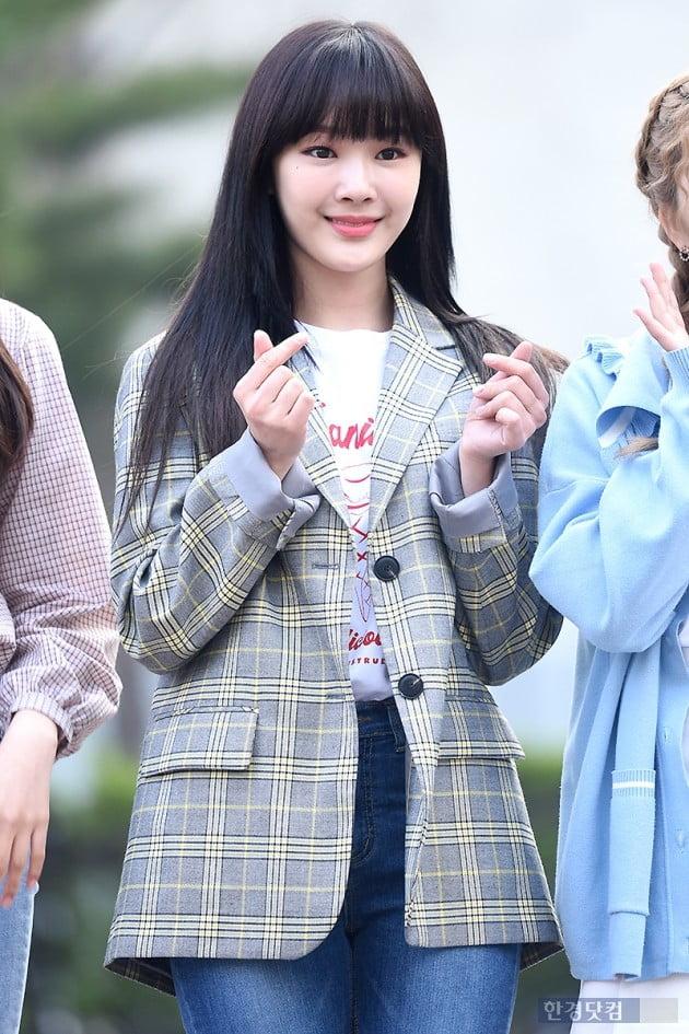[포토] 공원소녀 앤, '예쁜 미소로 하트 발사~'