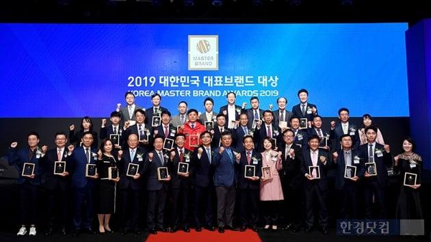 [포토] 2019 대한민국대표브랜드대상 영광의 얼굴들