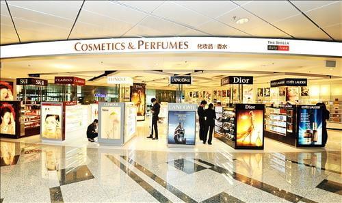 호텔신라의 싱가포르 공항 면세점