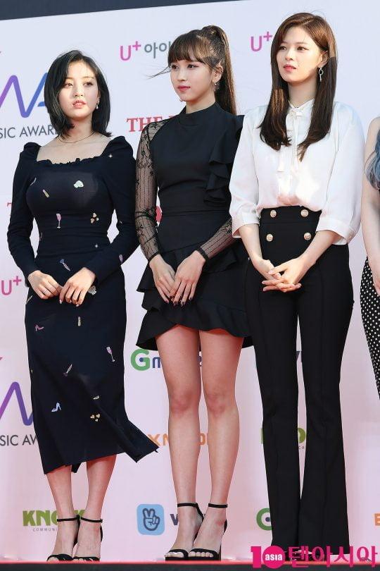 그룹 트와이스 지효, 미나, 정연