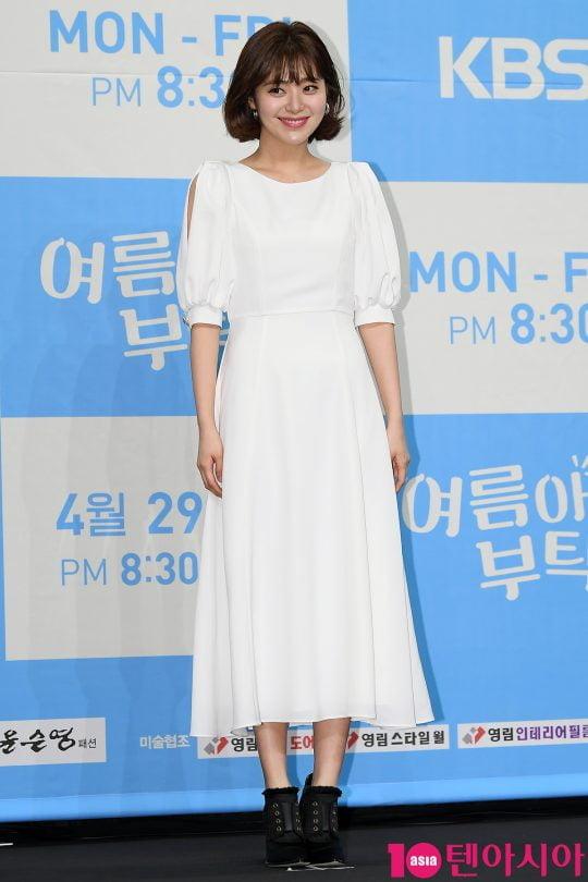 배우 이영은이  25일 오후 서울 신도림동 라마다 서울 호텔에서 열린 KBS1 새 일일드라마 '여름아 부탁해' 제작발표회에 참석했다. / 이승현 기자 lsh87@