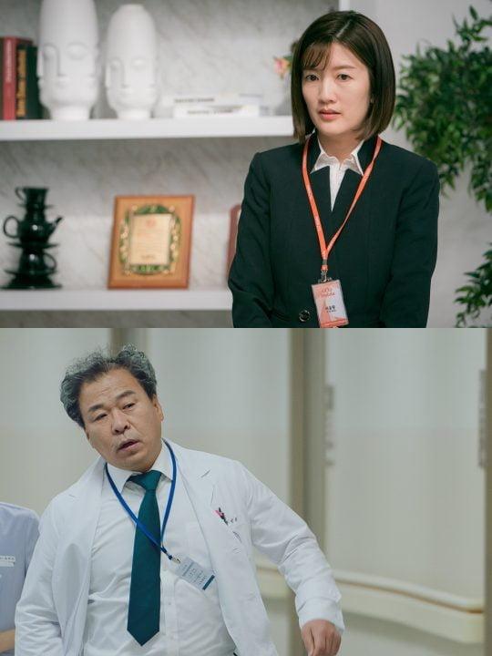 SBS '초면에 사랑합니다'에 출연하는 배우 장소연(위쪽), 김병춘/사진제공=SBS