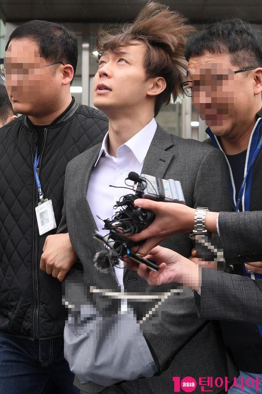 마약 투약을 인정한 박유천. /이승현 기자 lsh87@