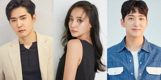 '레벨업'의 배우 데니안(왼쪽부터), 강별, 차선우 / 사진=각 소속사 제공