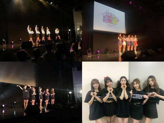 걸그룹 라붐의 일본 첫 단독 팬미팅 / 사진제공=글로벌에이치미디어
