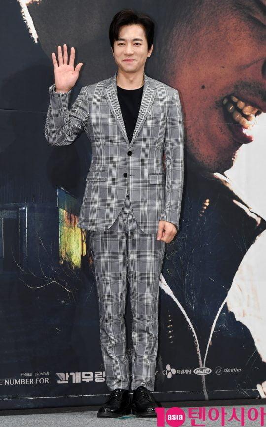OCN 수목 오리지널 '구해줘2'에서 성철우 목사를 연기한 배우 김영민./ 사진=조준원 기자wizard333@