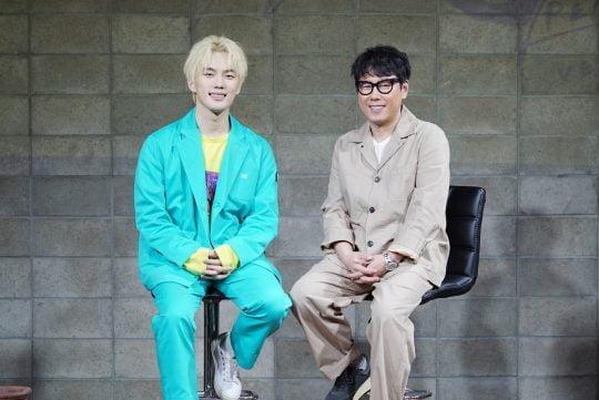 가수 퍼센트(왼쪽), 가수 겸 프로듀서 윤종신. / 제공=미스틱스토리