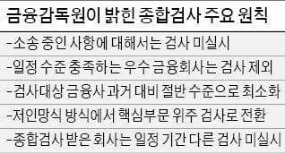 금감원, '즉시연금' 소송은 종합검사서 제외