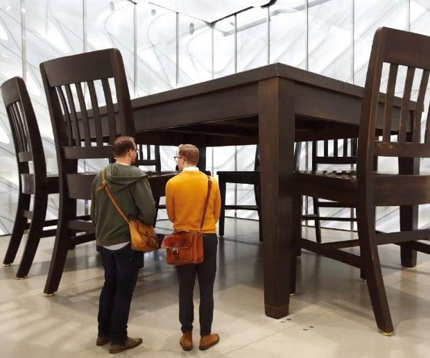 앤디 워홀, 리히텐슈타인 등 유명 작가의 작품을 볼 수 있는 브로드 현대미술관.