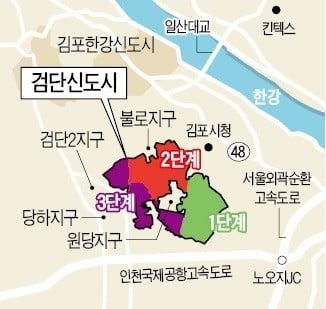 3기 신도시 '후폭풍'…검단 미분양 속출