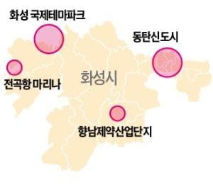 제약·해양 특화산업단지에 동탄신도시까지…'메가시티'로 탈바꿈