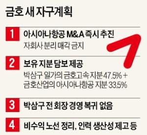 """""""아시아나항공 즉시 매각""""…인수戰 점화"""