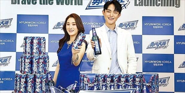 세계 1위 맥주회사 화윤설화가 프리미엄 맥주 '슈퍼엑스'를 다음달 국내 시장에 출시한다.  /화윤설화 제공