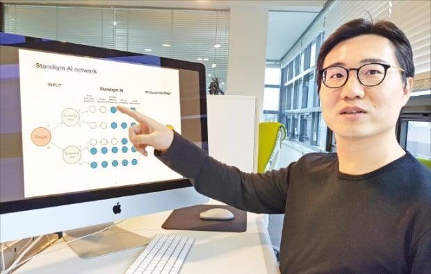 """바이오기업 스탠다임 김진한 대표 """"자체 개발 AI 프로그램으로 신약 물질 발굴"""""""