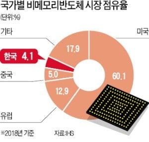 D램 편식…노래방칩 수준에 멈춘 한국 '悲메모리'