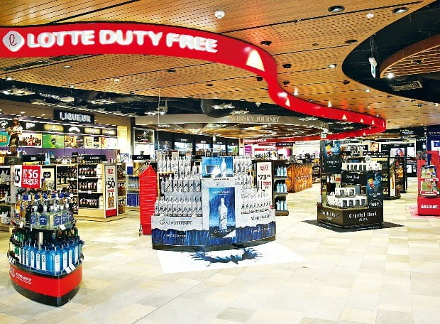 롯데면세점이 운영하는 오세아니아 지역 5곳 지점 가운데 가장 큰 규모(2795㎡)를 자랑하는 호주 브리즈번공항점.