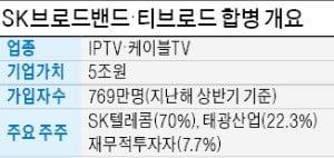 [마켓인사이트] SKB - 티브로드, 합병 본계약 체결…'국내 3위 유료방송 사업자' 탄생