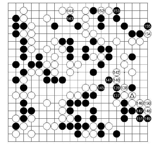 [제23기 하림배 여자국수전] 黑, 마무리