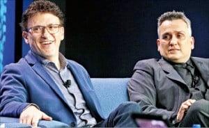 앤서니 루소(왼쪽)와 조 루소 감독.