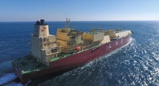 미국산 셰일가스 운송할 SK E&S LNG선 공개