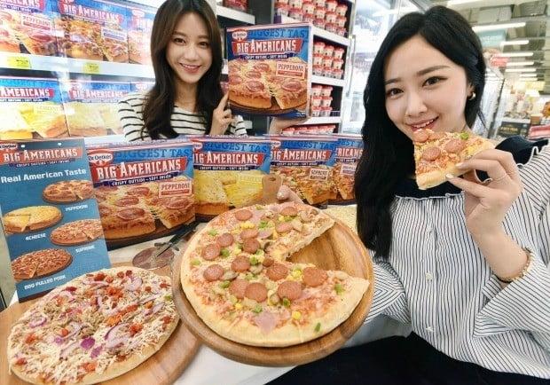 홈플러스, 정통 미국식 피자 냉동피자로~!!