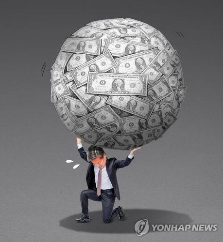 국가부채 1700조 육박…공무원·군인연금 충당부채 눈덩이