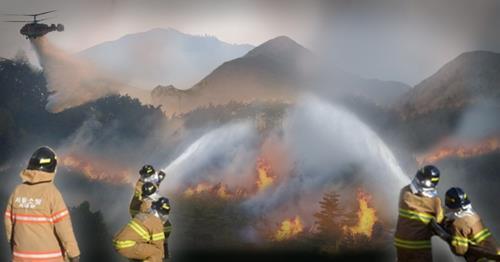 건조특보·강풍에 전국이 산불 초비상…곳곳서 '산불과의 전쟁'