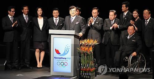 평창올림픽 유치 이끈 조양호 회장…체육발전 힘보탠 체육인