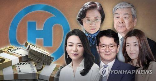 """한진 경영권 3세 승계 '상속세 난관'…""""최소 1750억원대"""""""