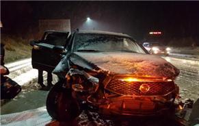 단양 중앙고속도로서 차량 5대 연쇄 추돌…1명 사망·3명 경상