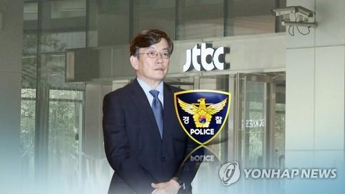 """경찰, '뺑소니 의혹' 손석희 출석 요구…""""일정 조율중"""""""