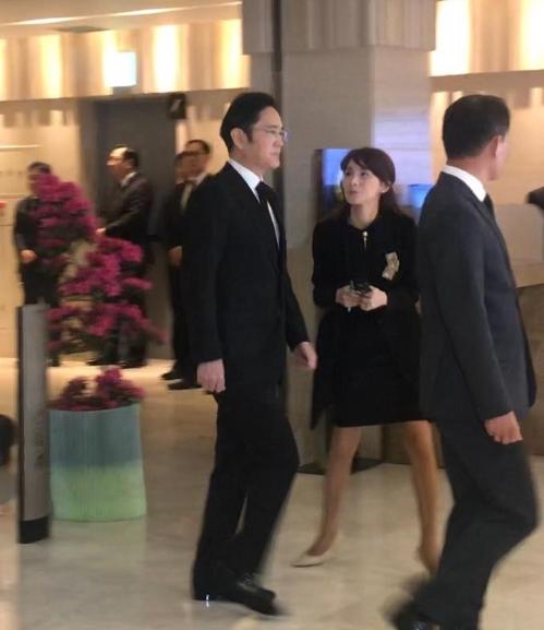 삼성 이재용 부회장, 故조양호 한진그룹 회장 빈소 조문