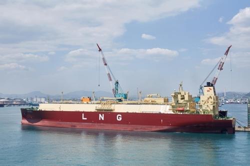 美셰일가스 실어나를 첫 민간 LNG수송선 공개…곧 출항