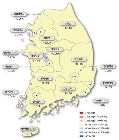급매 소진에 매물은 회수…서울 아파트값 하락세 '주춤'