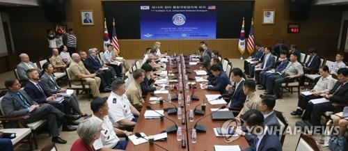 한미, 23∼24일 통합국방협의체 회의…전작권 전환 상황 등 점검