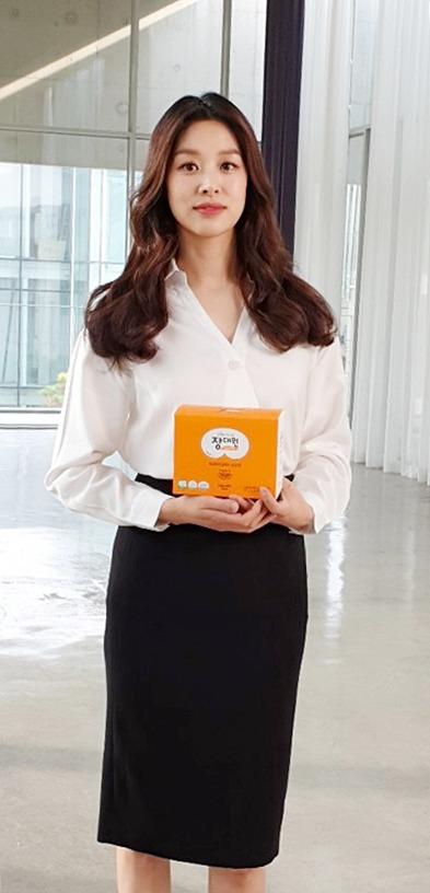 프로바이오틱스 유산균 '장대원', 브랜드 모델 장신영과 광고 촬영 진행