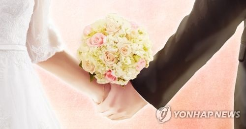 """""""결혼식 꼭 해야""""…'적극 찬성' 미혼남녀 10명중 1명꼴"""
