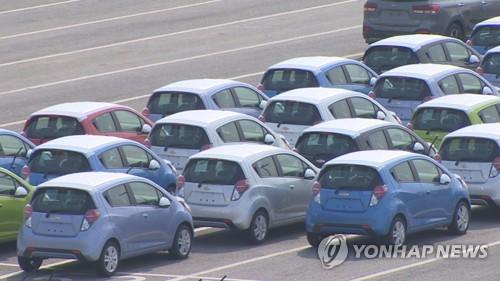 """3월 자동차 수출·생산·내수 동반감소…""""르노삼성 등 영향"""""""
