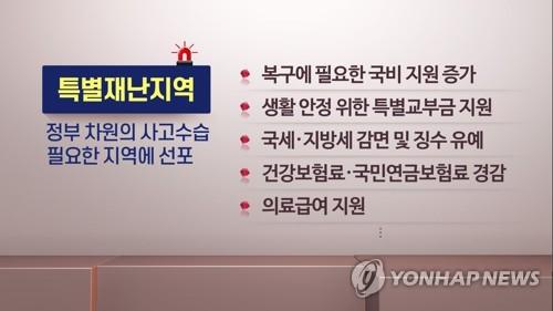 """[강원산불] 특별재난지역 지정됐지만 복구 막막…""""현실과 안 맞아"""""""