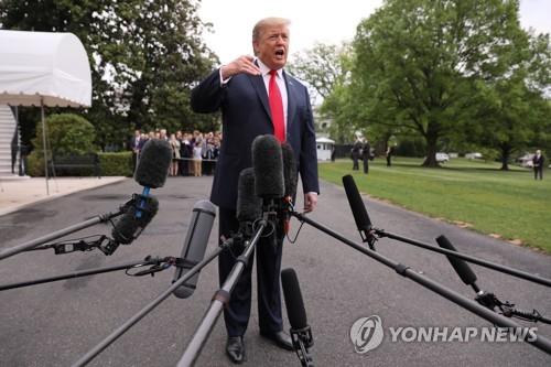 """트럼프 """"러시아와 중국, 북한 문제 돕고 있어 고맙게 생각"""""""