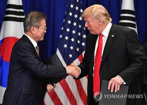 文대통령, 워싱턴 향발…트럼프와 비핵화 '톱다운 돌파구' 논의