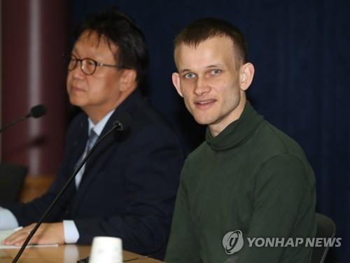 '이더리움 창시자' 부테린 초청 간담회…블록체인 미래 논의